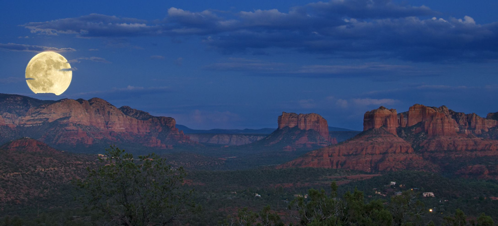 Sedona Full Moon